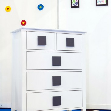 Grow Greyish Baby Chest Drawer