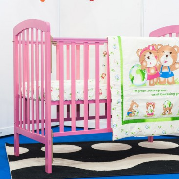 Pinky Baby Cot