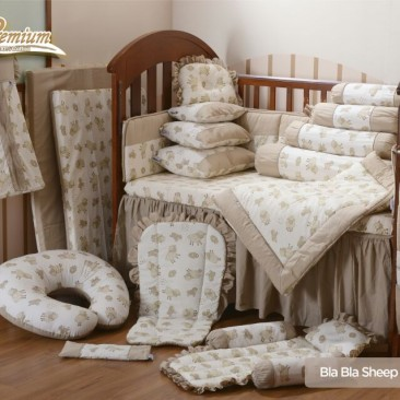 Premium Bedding Set – Bla Bla Sheep (BBS)
