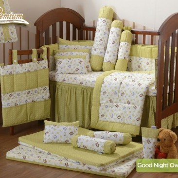 Premium Bedding Set – Good Night Owl (GNO)