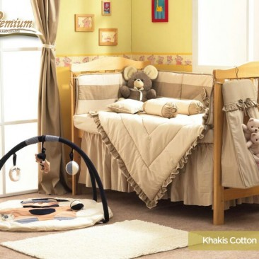 Premium Bedding Set – Khakis Cotton (KC)