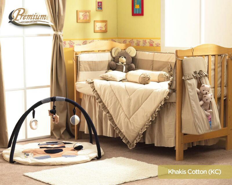 premium bedding set khakis cotton